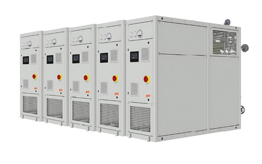 Heiz -und Kühlgeräte für Medientemperaturen von 200 °C