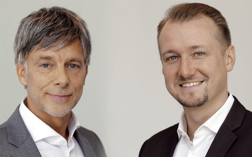 Geschäftsführer Manfred Christ und Jan-Christian Petersen
