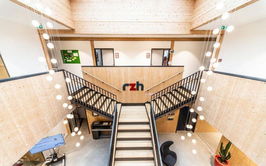 RZH Gebäude im nachhaltigen Holzbaustil