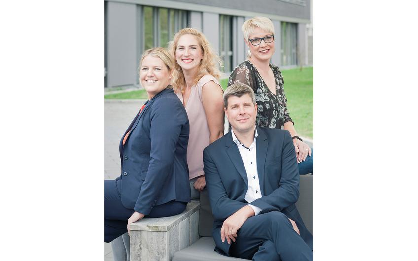 Silke Dall, Simone Pütter, Alexandra Jäger und Frank Pleimann (v.l.)