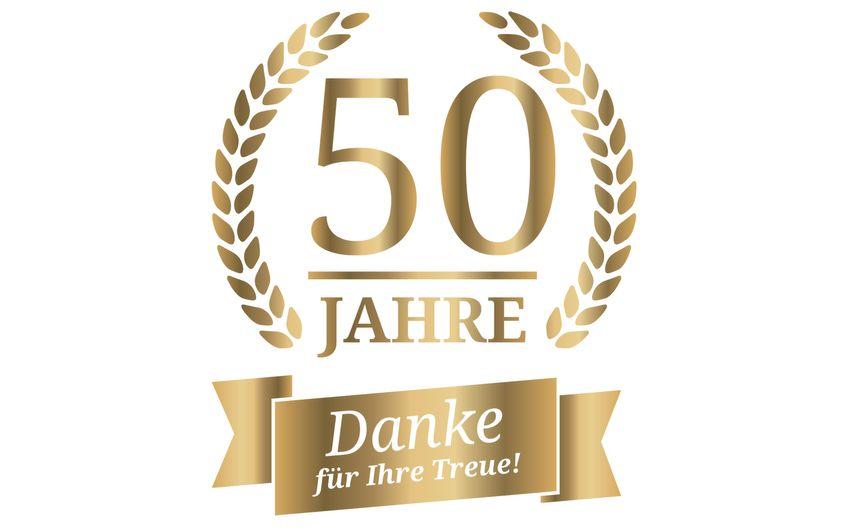 Ihr 50-jähriges Firmenjubiläum