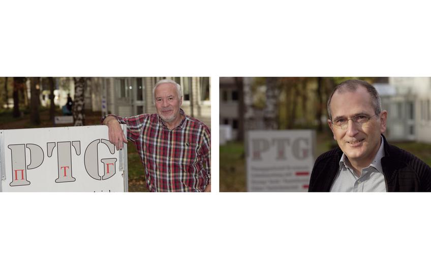 Ziehen sich demnächst zurück: Heinz-Werner Lanczek (l.) und Klaus Burgard (r.) (Foto: Holger Bernert)