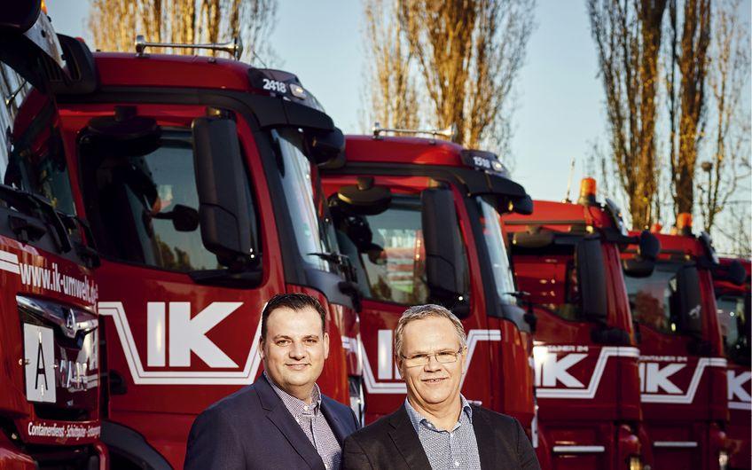 IK Container- und Entsorgungsgesellschaft: Verwertung vor Beseitigung