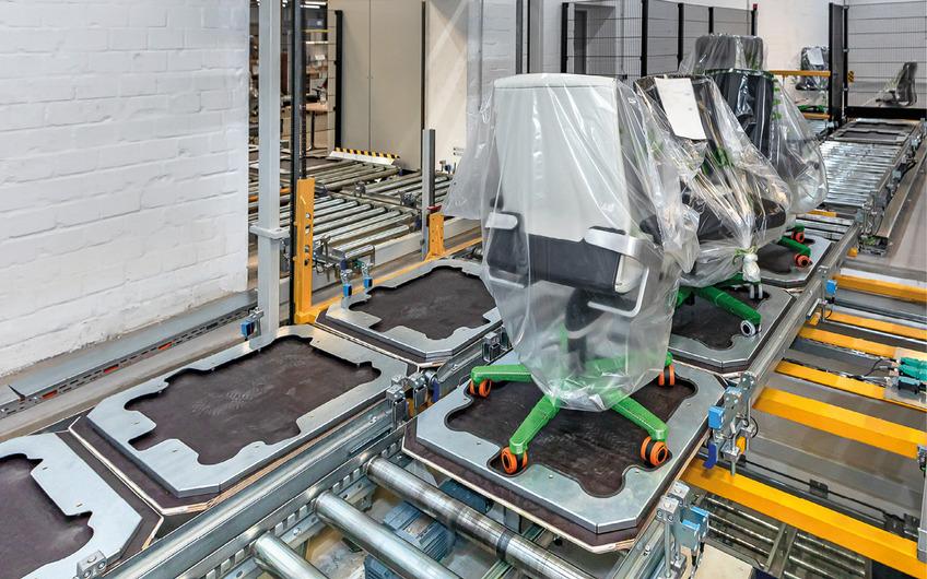 HaRo-Förderanlage ermöglicht reibungslosen Materialfluss