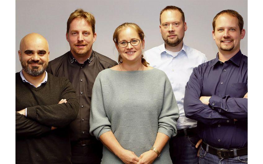 Gemeinsam planen die beiden Techcon- Geschäftsführer das nächste Projekt (Foto: Holger Bernert)