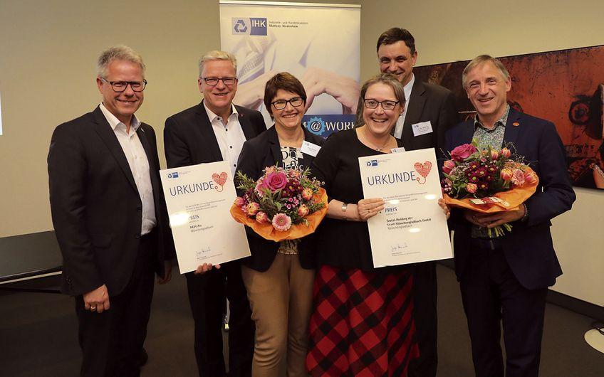 IHK Mittlerer Niederrhein: Betriebliches Gesundheitsmanagement