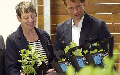 """Die ehemalige Bundesumweltministerin Dr. Barbara Hendricks wurde zum Fan von """"Schnauze voll!"""""""