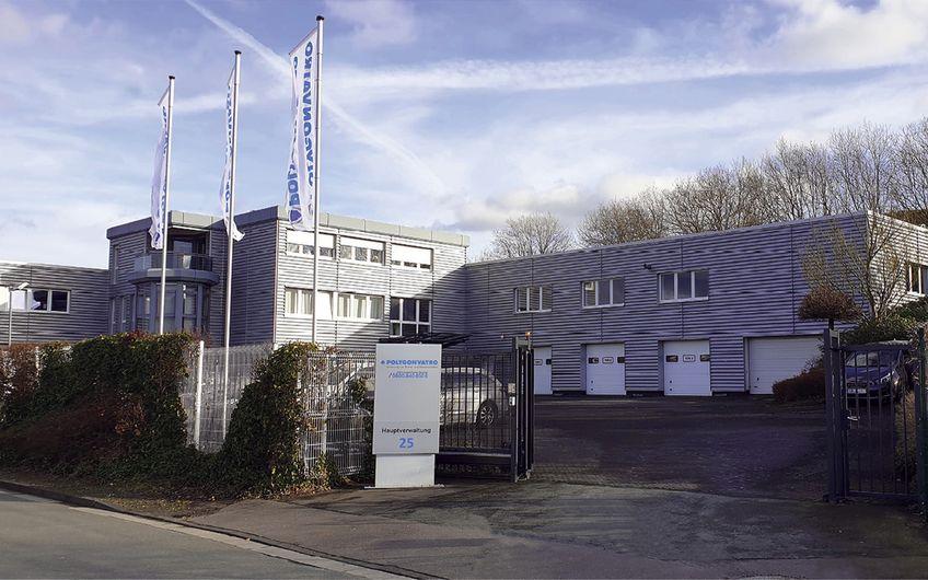 Die POLYGONVATRO-Hauptverwaltung in Olpe