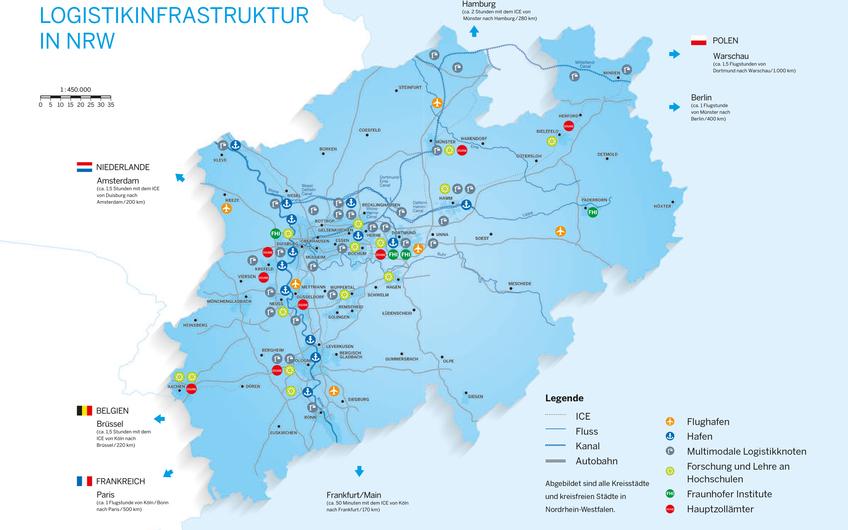 Logistikstandort NRW: Gute Noten von der Weltbank