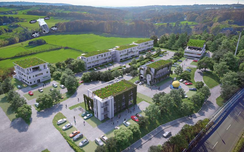 Wirtschaftsförderung Wuppertal: Smart Tec Campus Wuppertal