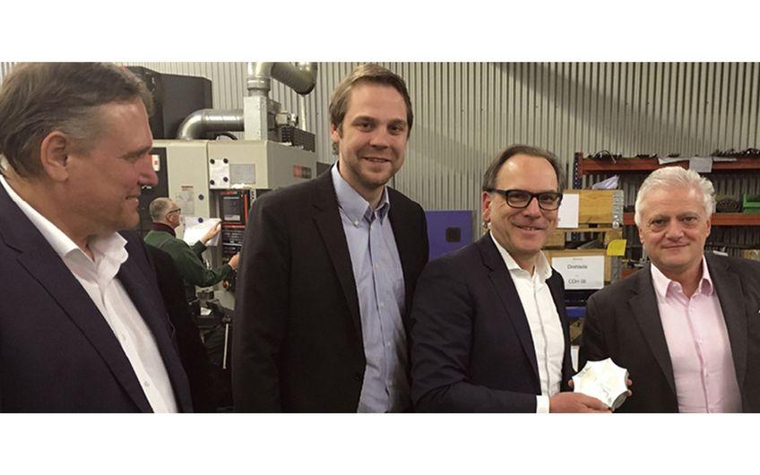 Maschinenfabrik Johann Leimbach: Stippvisite vor Ort
