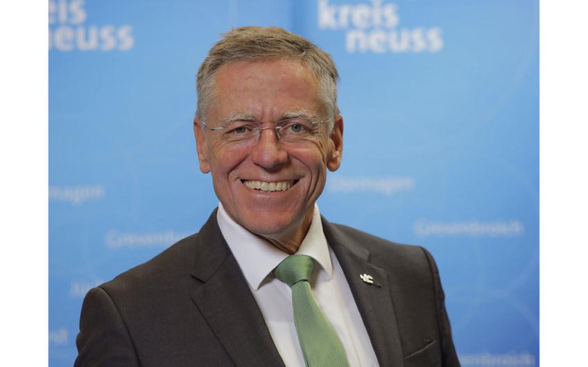 Landrat Hans-Jürgen Petrauschke (Foto: Andreas Baum/Rhein-Kreis Neuss)