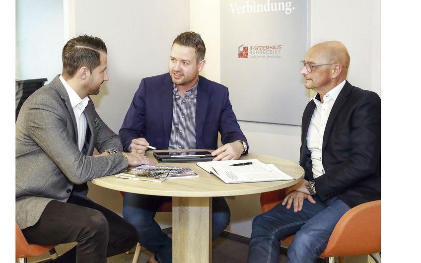 IT-Strategieplanung und Kundenjahresgespräch mit langjährigen Kunden: Kapteina & Partner GmbH