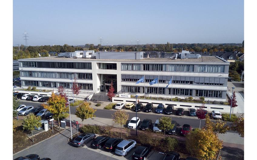 Der Medtronic-Firmensitz in Meerbusch