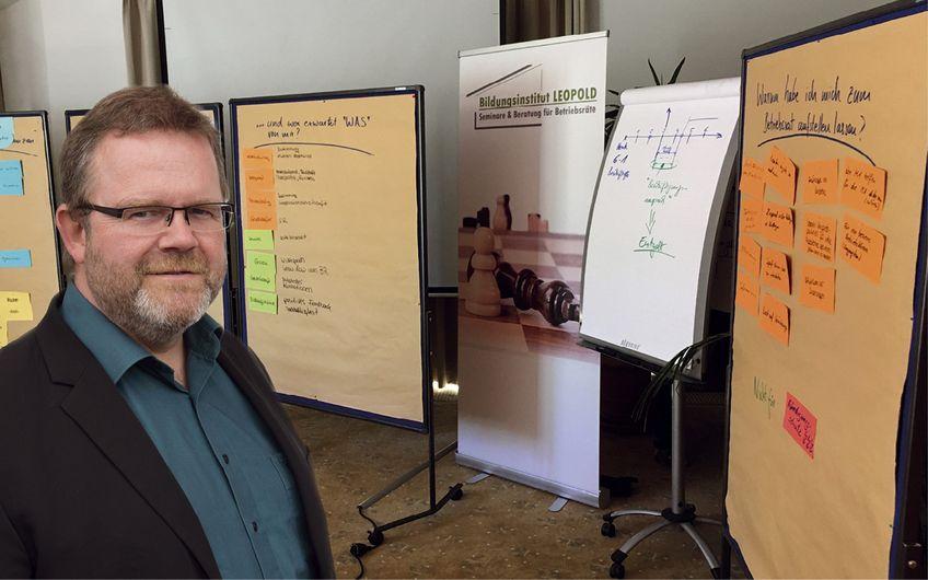 Bildungsinstitut Leopold: Unternehmer mit Gewerkschaftsgenen