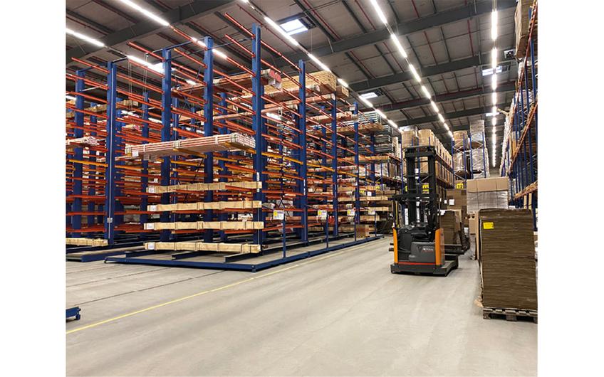 In Ense wird Logistik maßgeschneidert