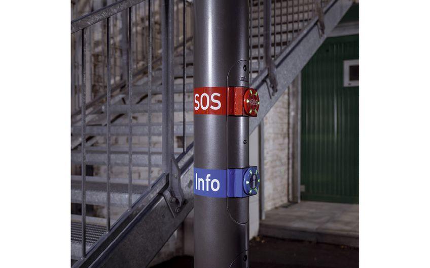 Auf den ersten Blick verständlich: die Schalter der neuen Safety-Lösung (Foto: Christoph Papsch)