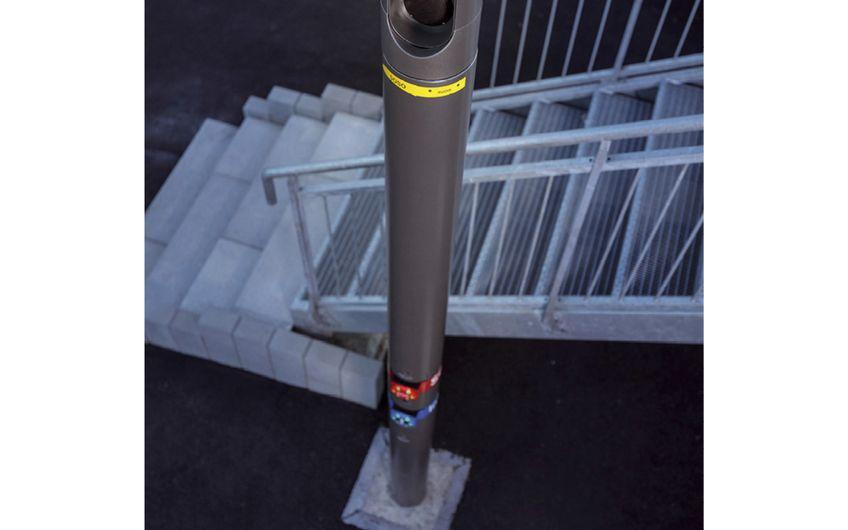 Spendet Licht und Sicherheit:  smarte Laterne für die Smart City von morgen (Foto: Christoph Papsch)