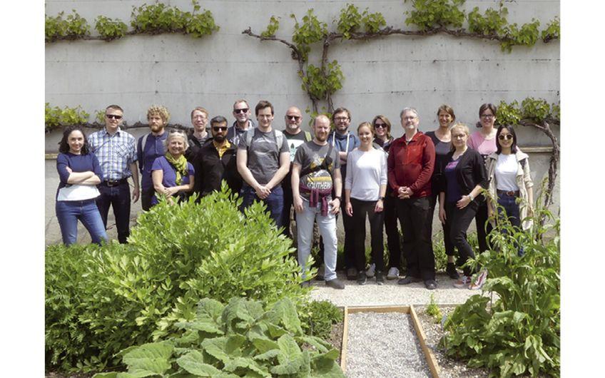 Das Team von wbp Landschaftsarchitekten auf einer Fachexkursion in Basel (Foto: wbp)
