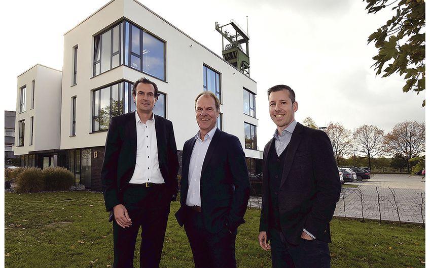 Die Kanzleipartner Carsten Beyer, Michael Ebert und Markus Grudzenski (v.l.)