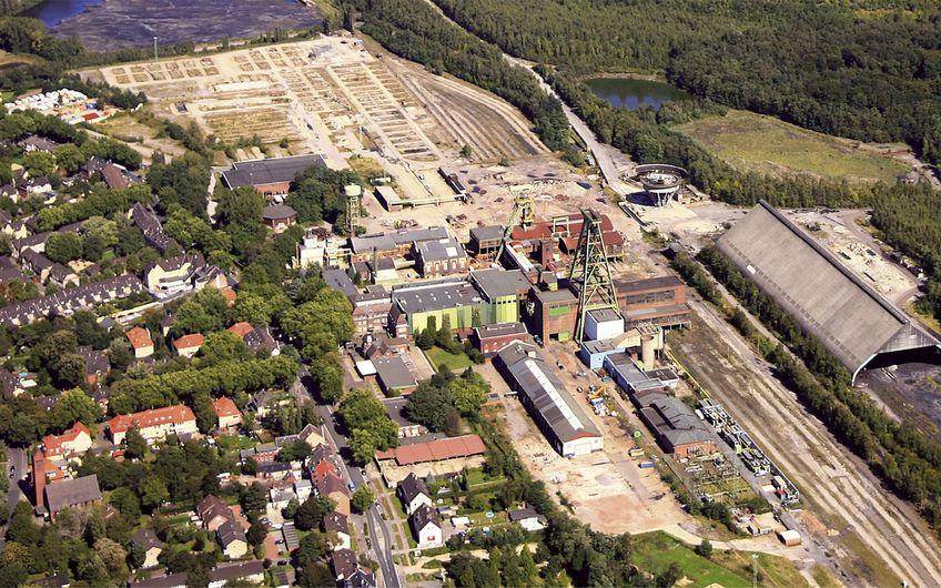 Der Bergwerksstandort Lohberg im Jahr 2008, drei Jahre nach der Stilllegung (Foto: RVR)