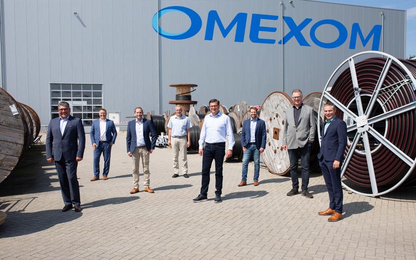 Am Standort Uedem beschäftigt OMEXOM über 650 Mitarbeiter (© Wort & Lichtbild)