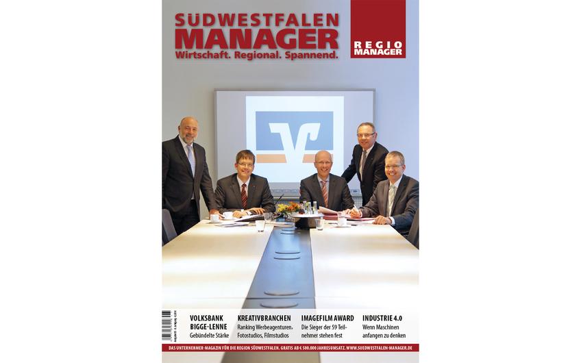 Design mit Dachrahmenlogo REGIO MANAGER, ab Ausgabe 05/2014