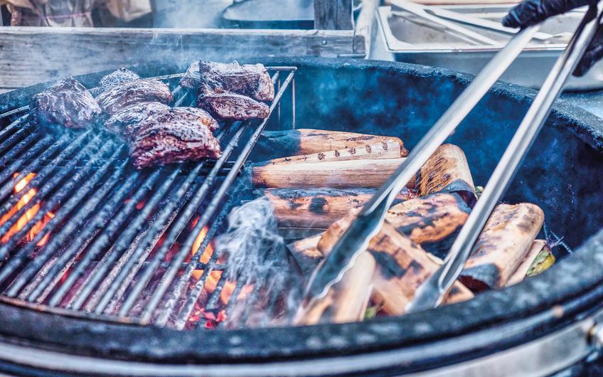 Auf den Grill kommt nur  qualitativ hochwertiges Fleisch