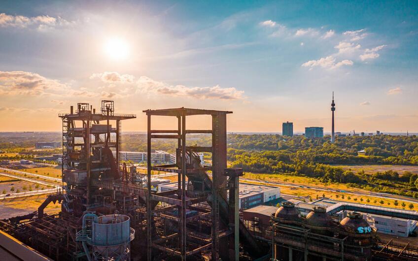 40 % des deutschen Stahls kommt aus NRW.  Foto: © Marcus Retkowietz – stock.adobe.com