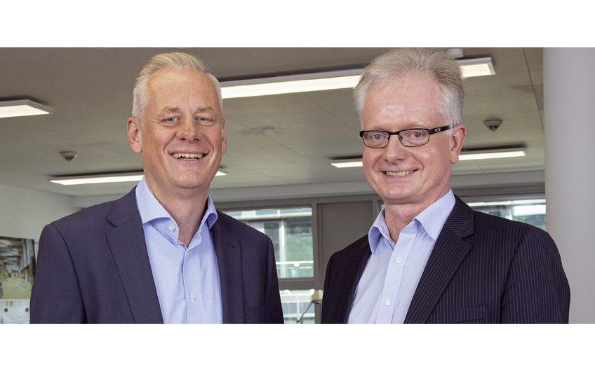 Diplom-Ingenieur Werner Altena und Diplom-Ingenieur Carsten Kratzert (v.r.) (Foto: Wort & Lichtbild)