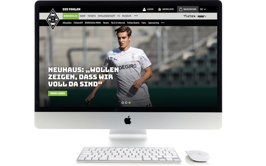 Die meap GmbH macht Borussia Mönchengladbach digital