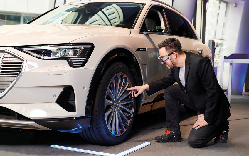 Virtuelle Fahrzeugbesichtigung mit der Audi Live Beratung