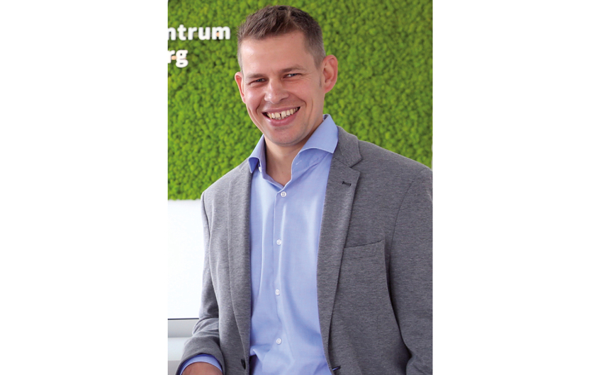 Benjamin Gronau ist einer von vier Geschäftsführern (© Detlef Ilgner)
