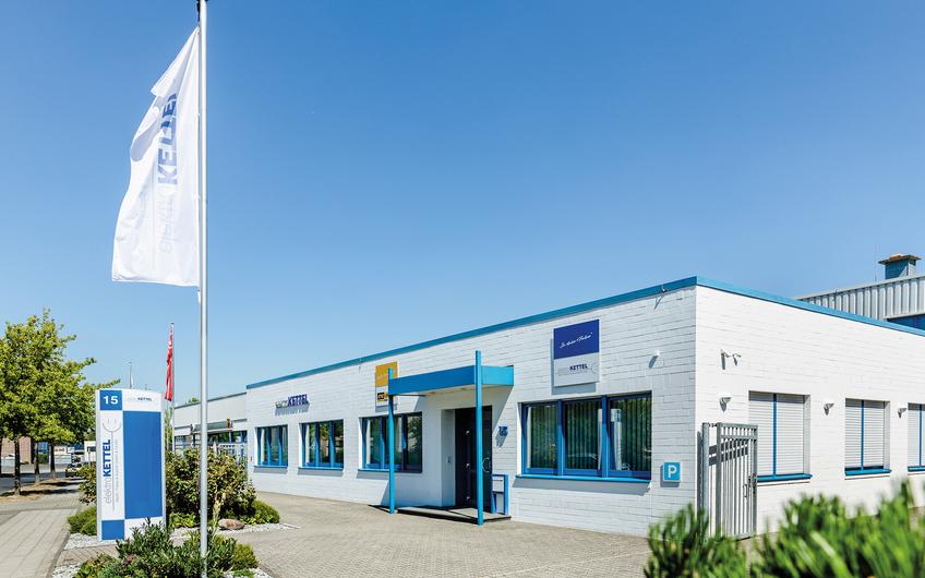 Der Firmensitz von Elektro Kettel in Viersen (Foto: Thomas Bocian)