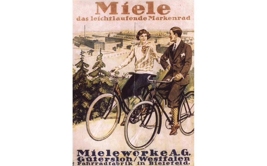 Erst Fahrräder, dann Geschirrspüler (Foto: Miele)