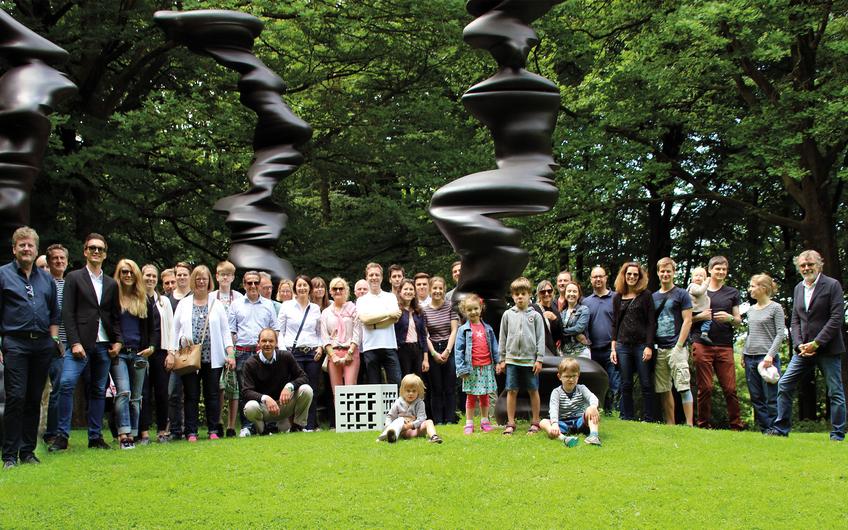 RDS Family NRW im Skulpturenpark Wuppertal