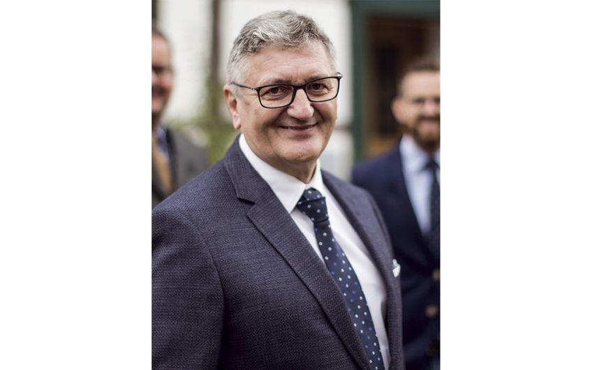 Günter Engnath, zweiter Geschäftsführer des Enser Versicherungskontors