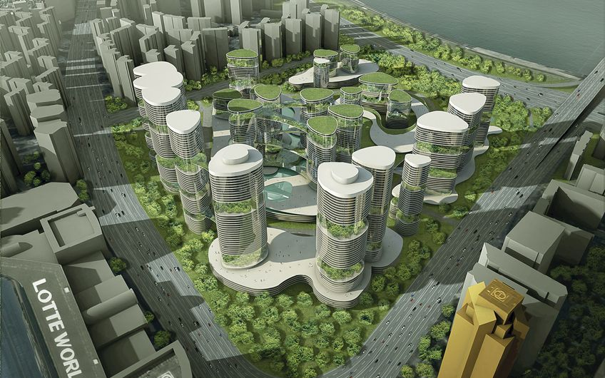 International Design Competition of Jamsil Apartment Complex 5 Residential and Complex Facility