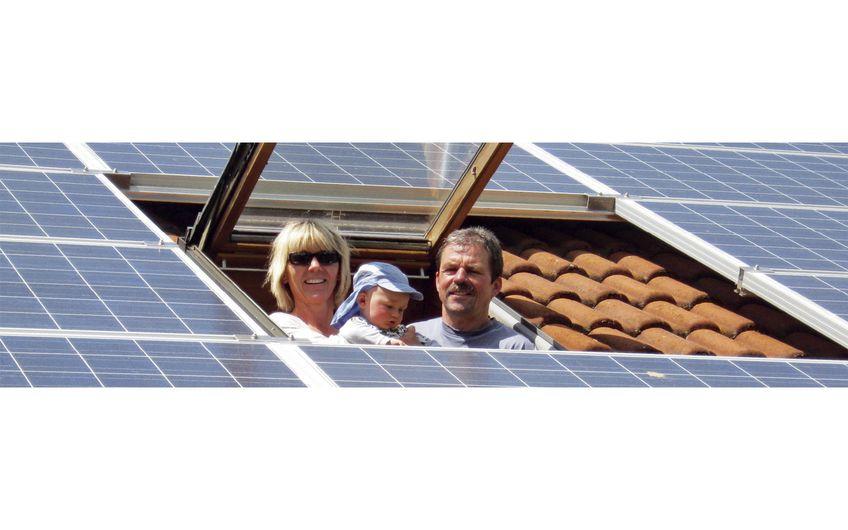 Besonders Familien können sich auf stabile Preise bei Kauf von Anlagen freuen Foto: BSW - Bundesverband Solarwirtschaft