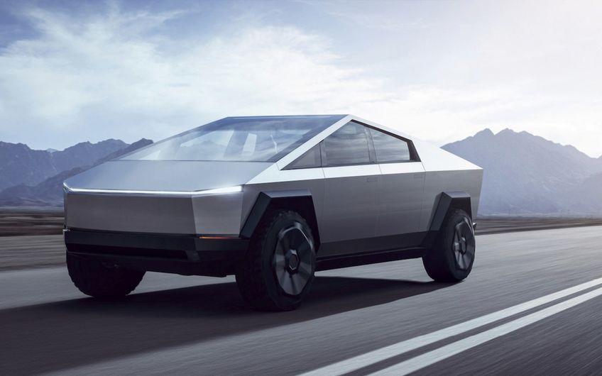 Mit dem Cybertruck elektrifizieren die Kalifornier nun auch das amerikanischste Fahrzeugsegment überhaupt: den Pick-up. Zu Preisen ab 40.000 Dollar (36.000 Euro) soll der Pritschenwagen im Stealth-Fighter-Look in einigen Jahren auf den Markt kommen.