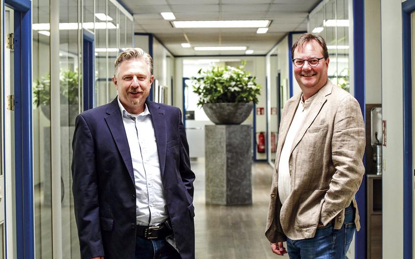 Die Geschäftsführer Magnus und Armin van Eyckels (v.l.)