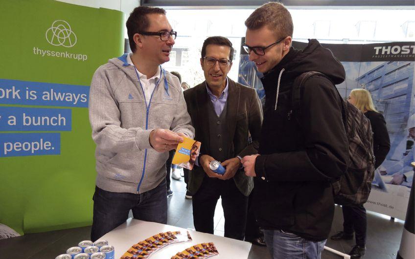 Essener Unternehmensverband: Unterstützung für Jobmesse