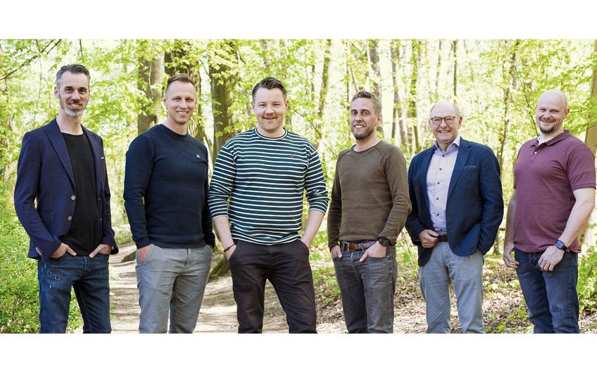Christoph Ferber, Torsten Feuring, Michael Neppeßen, David Kordes, Friedrich Berlemann und Christopher Borchert (v.l.)