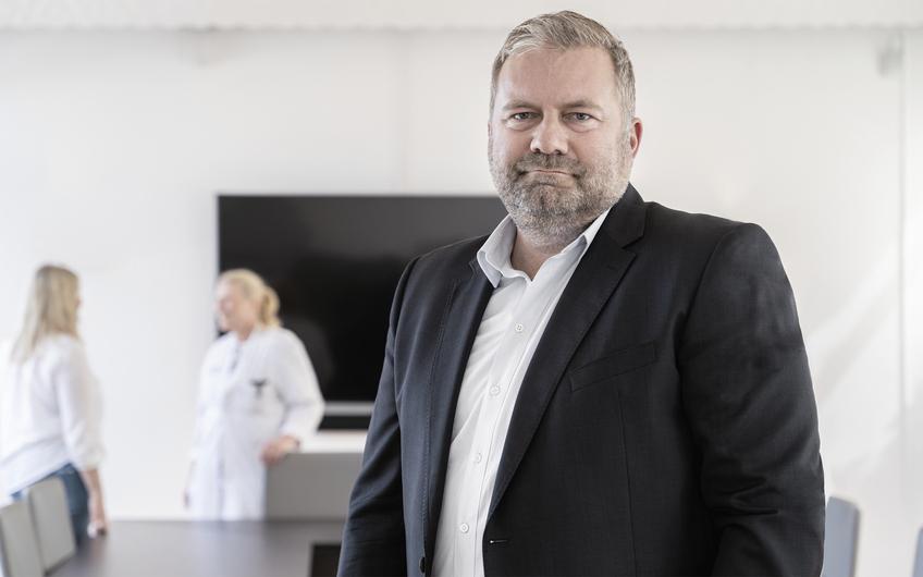 Dirk Burghaus, Turnaround-Manager aus Olpe und Vorstand der Sportklinik Hellersen in Lüdenscheid