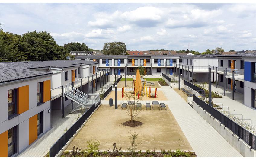 Neubau Wohnaprk Köln