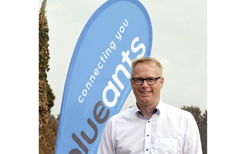 blueants-Geschäftsführer Michael Wiethoff (Foto: Gerd Lorenzen)