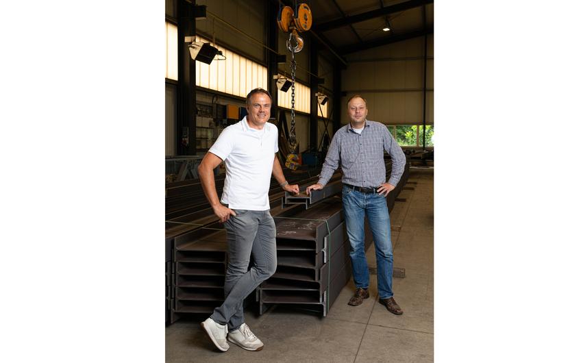Die Geschäftsführer Peter Wessels und Michael Pastoors (v.l.) (© Wort & Lichtbild)