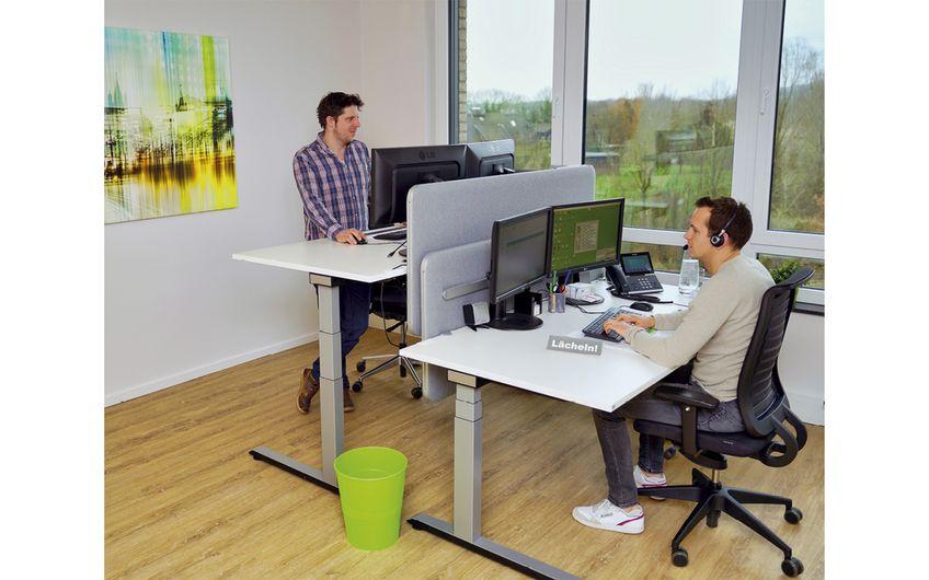 Die IT-Spezialisten haben zu Jahresbeginn neue Räumlichkeiten im Grafschafter Gewerbepark Genend bezogen