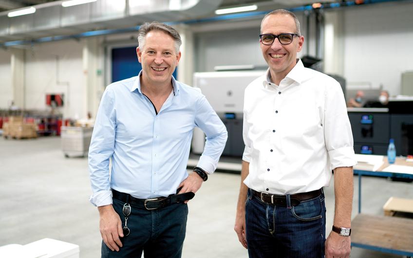 Geschäftsführer Jens Rauschen und Michael Wietkamp (v. l.) (© Dennis Williamson)