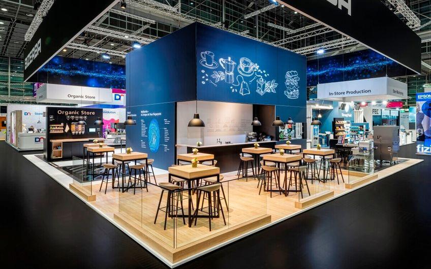 i.xpo Messebau & Markenwelten auf der Euroshop in Düsseldorf